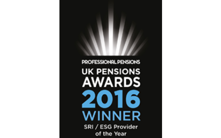 UK Pension Awards 2016 Winner