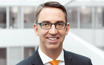 Till Reuter, CEO of KUKA AG, is looking forward to working with the Formula E team